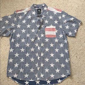Other - Quicksilver Men's ButtonDown Shirt Reg Fit SizeXL